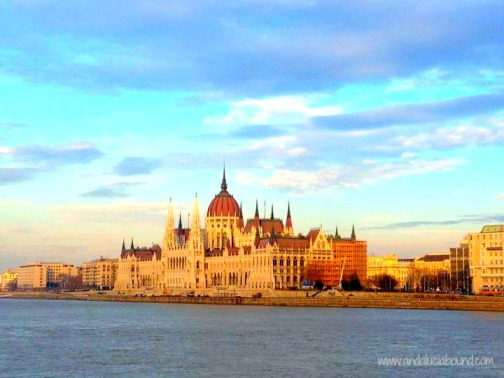 Hungarian Parliament Sunset