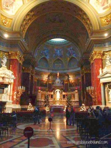 St. Stephens Basilica Inside Andalucia Bound
