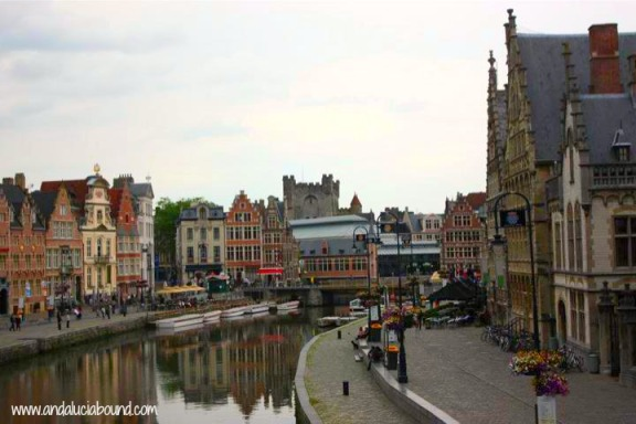 Gent Canal- Andalucia Bound