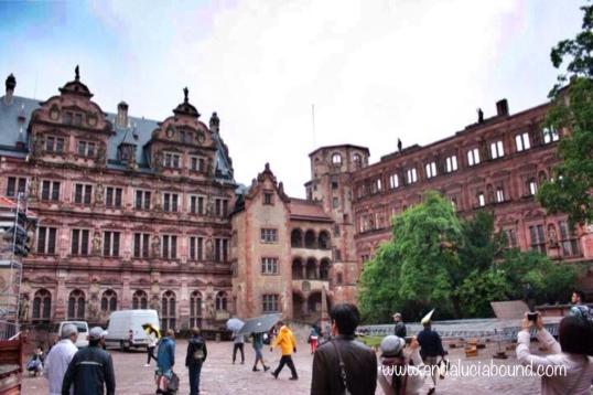Heidelberg Castle Courtyard- Andalucía Bound