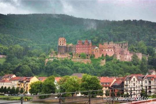 Heidelberg Castle from afar- Andalucía Bound