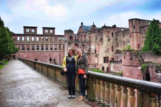 Heidelberg Castle Lauren and I- Andalucía Bound
