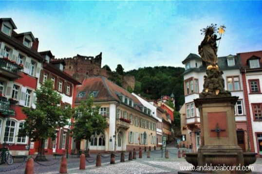 Heidelberg Kornmarkt- Andalucía Bound