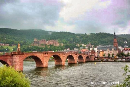 Heidelberg Landscape from below- Andalucía Bound