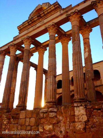 Merida Templo- Andalucia Bound