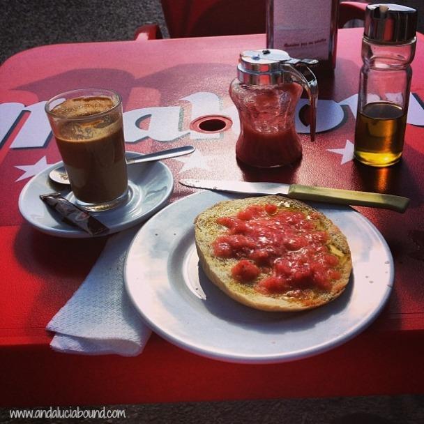 Tostada con tomate- Andalucía Bound