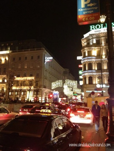 Vienna New Years Eve Lights- Andalucia Bound