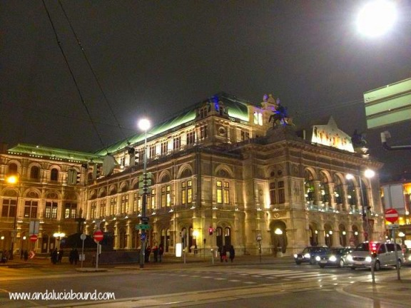 Vienna Opera House Night- Andalucia Bound